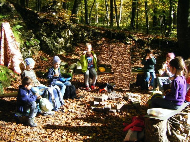Kindergeburtstag in der WaldBasis